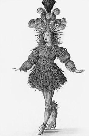 Classic Ballet  La Nuit  costume