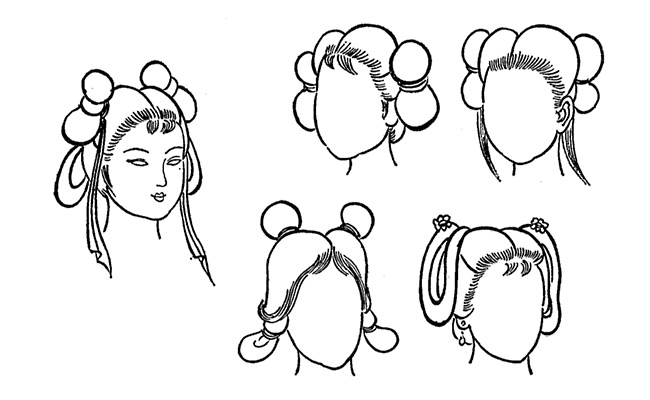 Traditional Asian Hairstyles Haute Coiffure From Ancient China